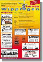 Sonderseite der Ems-Zeitung zur Wippinger Kirmes