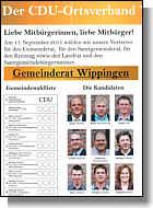 CDU-Flyer