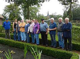 Pfarrgartenteam und Heimatfreunde Wippingen