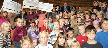 Sponsorenlauf der Grundschule - Zum Bericht der Ems-Zeitung vom 14.10.2011