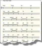 Das Kipp Kapp Kögel Lied in der Version vom Schoolbrink Wippingen