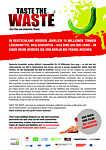 """Flyer zum Film """"Taste The Waste"""""""
