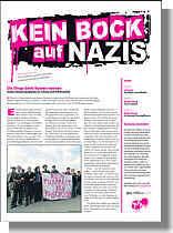 """Schülerzeitung """"Kein Bock auf Nazis"""""""