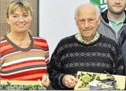 Monika und Hans Klapprott - Foto Willy Rave / Ems-Zeitung vom 03.01.2012