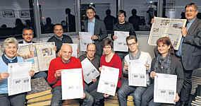 Ems-zeitung vom 22.02.2012/ Foto: Gerd Schade