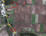Bahnübergänge Kluse /Link zu Google-Maps