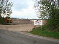 Baustelle Hähnchenmastställe im Elsebrook