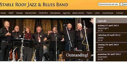 Zur Homepage der Stable Roof Jazz & Blues Band