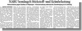 Artikel Ems-Zeitung vom 08.06.2012