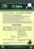 Flyer mit Veranstaltungsprogramm