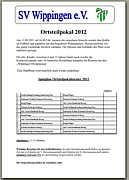Flyer zum Ortsteilepokal