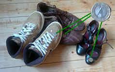 Schuhe für Rumänien