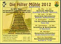 Flyer zur Hilter Mühle