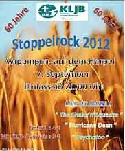 Plakat zum Stoppelrock Wippingen 2012