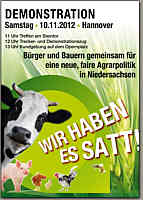 Flyer zur Demo