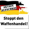 Zur Aktion Aufschrei: Stoppt den Waffenhandel!