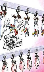 Karikatur von Petra Kaster, Siegerbeitrag des Deutschen Karikaturenpreises 2012