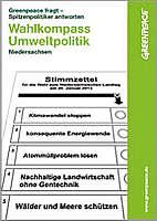 Zum Wahlkompass von Greenpeace