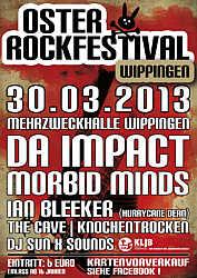 Plakat zum Osterrockfestival