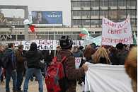 Demonstration in Plovdiv