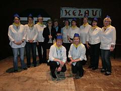 Orga-Team des Wippinger Frauenkarnevals 2013