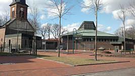Baubeginn bei der Wippinger Leichenhalle