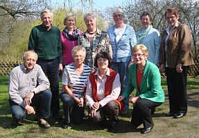 Gruppenbild der Teilnehmer am Klassentreffen
