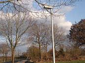 Laternen im Ortsteil Püngel