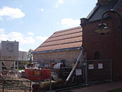 Baustelle Leichenhalle April 2013
