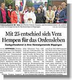 Artikel in der Ems-Zeitung vom 14.05.2013