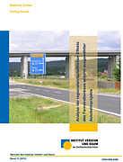 """Titelbild der Studie """"Analyse der regionalwirtschaftlichen Effekte des Fernstraßenbaus anhand ausgewählter Autobahnprojekte"""""""