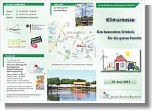 Flyer zur Klimamesse