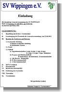 Einladung zur Generalversammlung und die tabellen des Spieljahres 2012/2013