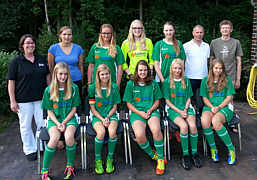 Die B-Juniorinnen des SV Wippingen