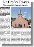 Artikel in der Ems-Zeitung vom 08.08.2013