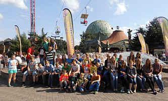 Die Wippinger MessdienerInnen am 10. August 13 in Slagharen