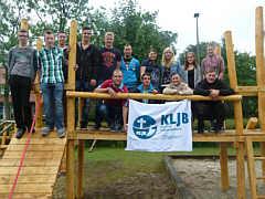 Gruppenbild am Ende der 72-Stunden-Aktion in Wippingen