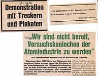 Bericht der Ems-Zeitung von 1976