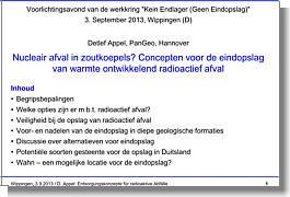 Vortrag Dr. Appel am 03.09.2013 (Vertaald)