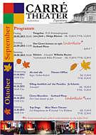 Das Programm des Carré-Theaters Papenburg im September und Oktober 2013
