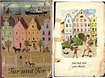 """Titelseite und erste Seite des Lesebuchs """"Tür und Tor"""