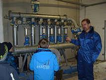 Exkursion der Grundschule zur Biogasanlage Pieper