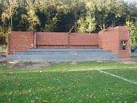 Tribünenumbau SV Wippingen 2013