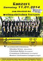 Flyer des Kirchnchors