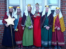 Sternsinger in Wippingen