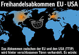 Infografik zu den Folgen von TTIP