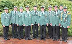 Der Vorstand des Schützenvereins