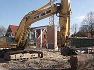 Abriss der Mehrzweckhalle