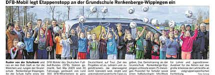 Bericht in der Ems-Zeitung vom 28.03.2014