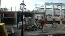 Baustelle Mehrzweckhalle Wippingen